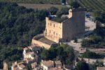 Vue aérienne chateau